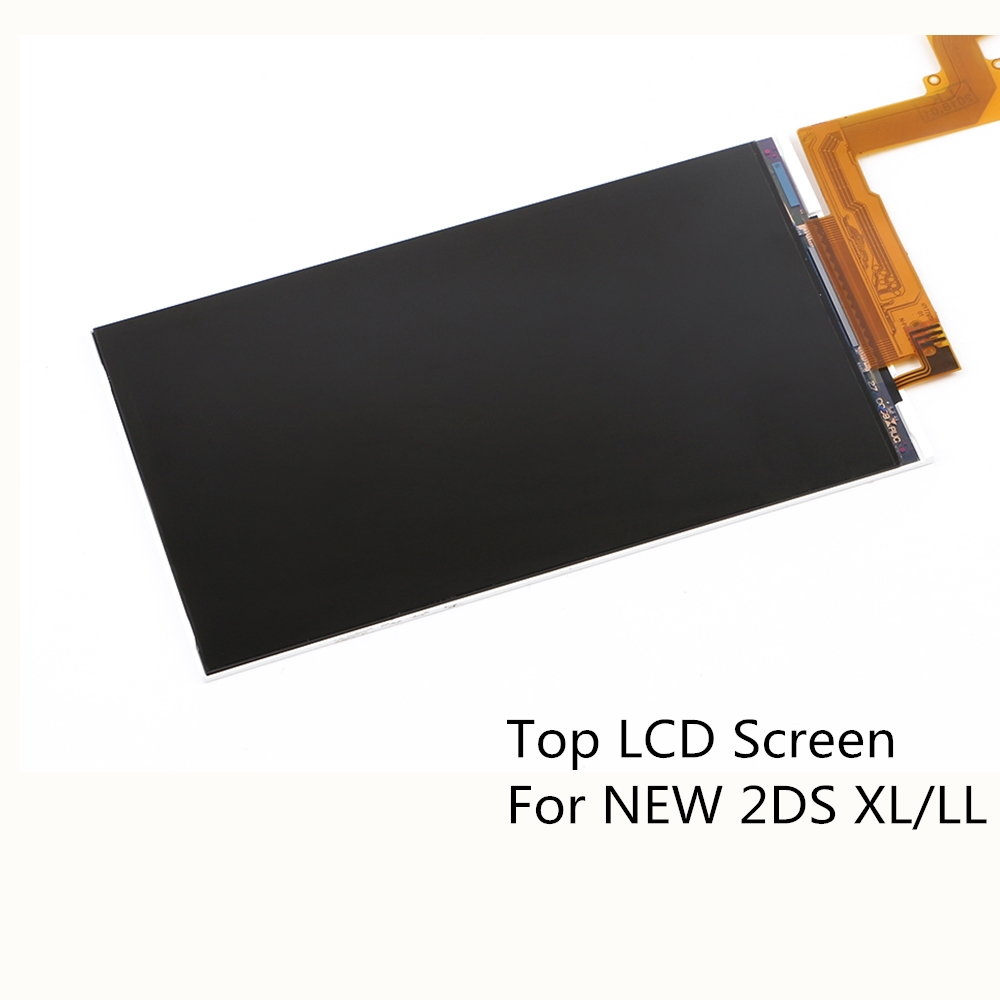 Original Top Upper LCD Screen Display Replacement Parts for NEW 2DS XL/LL high quality original lcd display screen for nintendo 2ds replacement genuine guarantee no defective pixel free shipping