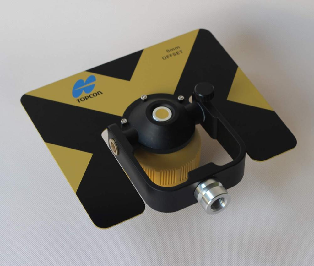 NEW Yellow Metal SINGLE PRISM FOR  total stationsNEW Yellow Metal SINGLE PRISM FOR  total stations