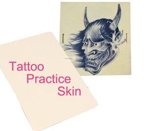 Image 1 - 1pc Tattoo Practice Skin 3d microblading Nontoxic Soft Permanent Makeup kit Tools Sheet Blank Plain