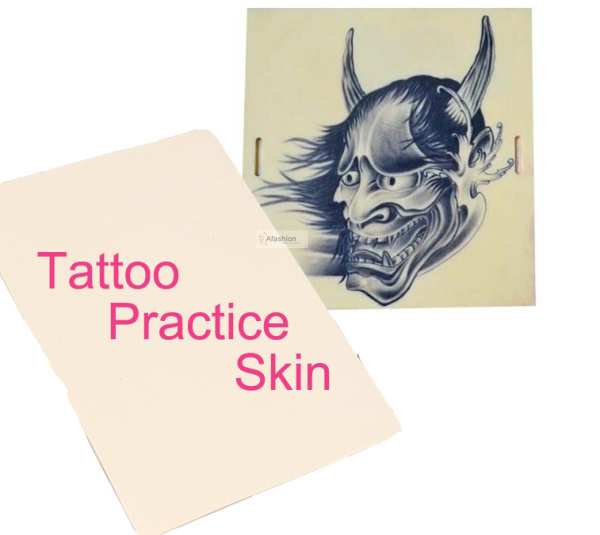 1pc Tattoo Practice Skin 3d microblading Nontoxic Soft Permanent Makeup kit Tools Sheet Blank Plain