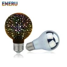 все цены на Vintage Edison E27 3D Led Bulb Star Fireworks Night Light 220V A60 ST64 G80 G95 G125 Holiday Novelty Decoration Lighting