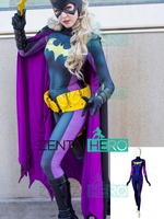 3D Printed Dye sub New 52 Batgirl Cosplay Costume Women Girl Lady Leotard Batman Superhero Costume Tight Catsuit Only Bodysuit