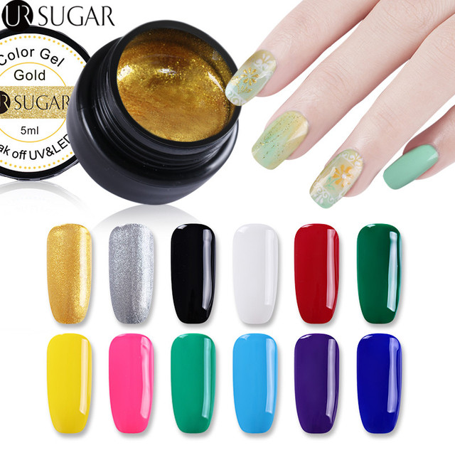 Ur Sugar Paint Gel Nail Art Acrylic Painting Color Gel Drawing Uv