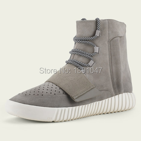 41bc4941b0e yzy brand men shoes men s boots Kanye West 750 boots men s sport shoes 2015  fashiong sneakers with box