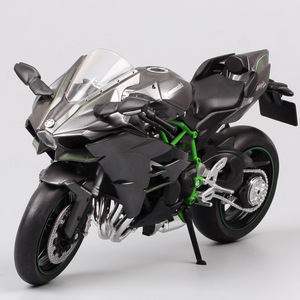Image 4 - 1/12 Automaxx Kawasaki Ninja H2 supersport bike H2R scale motorcycle Diecasts & Toy Vehicles model thumbnails for kid collection