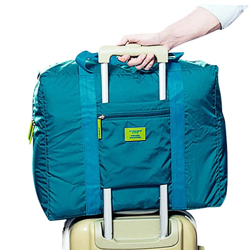 Пътуване кубчета найлон голям капацитет сгъваема чанта уикенд чанта пътуване Duffle мъже жени багаж пътни чанти X032