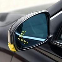 LED heating Rear side turn signal blue curvature anti defogging dazzling rearview mirror for BMW X3 F25 X4 F26 X5 F15 X6 F16