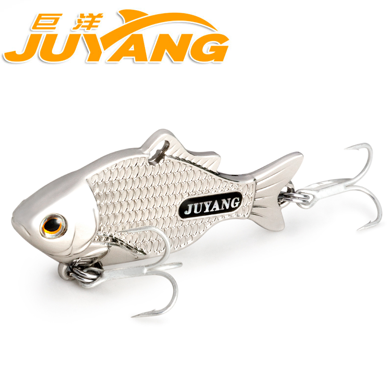 5pcs/pack JY Spinner Bait Artificial Scale Carp Fishing Minnow Lure With Treble Hook Angling Freshwater Bass Pout lifelike minnow fishing lure 1pcs 9 5cm 11 2g high quality treble hook artificial hard bait treble hook crankbait with 3d eyes
