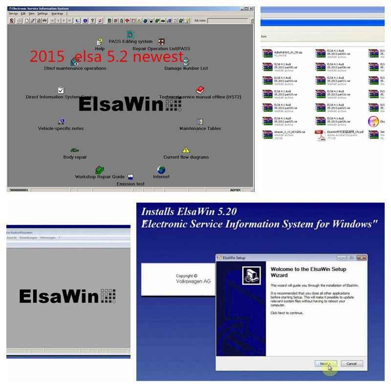 2019 ALLDATA Disco Duro Software de reparación automática todos los datos v10.53 + mitchell on demand 2015 + taller vívido + Elsawin + atsg usb3 26in1TB hdd