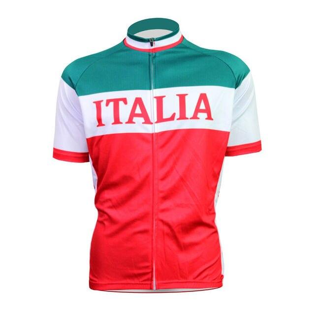 3b80a036e MARTIN FOX New Mens Cycling Jersey Comfortable Bike Bicycle Shirt Italian  flag logo Alien SportsWear cyclingclothing Size 2XS-5X