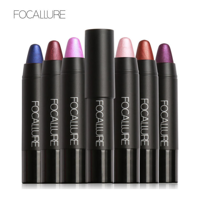 Focallure New Arrival 8 Colors Metallic Colors Lip Stick Matte Lip Gloss Long-lasting Pearl lipstick Metal Color Lipstick 10pcs sace lady 16 colors set matte lipstick waterproof metallic lip gloss long lasting moisturizer lip stick natural makeup cosmetic