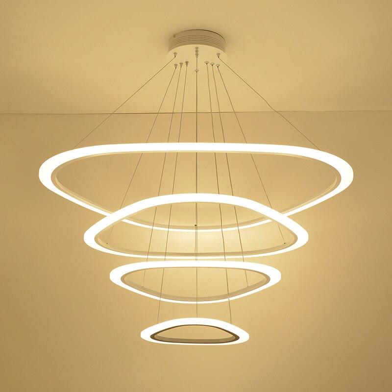 Modern led Lustre Para sala de estar Sala de Jantar luminária de suspensão led avize pingente lustre luz Lustre de Iluminação LED