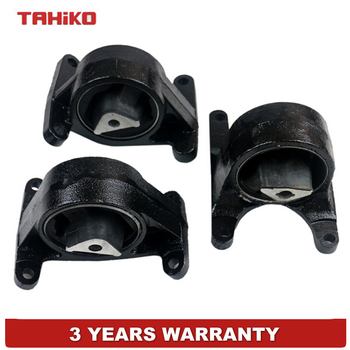 Rear Engine Motor Mount Set 3 Fit for Jeep Grand Cherokee WJ 4WD 99-05 4.7L L R