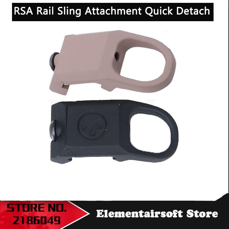 Element  Airsoft Tactical RSA Rail Sling Attachment Quick Detach Sling Swivel Mount Adapter Rifle Gun Accessories