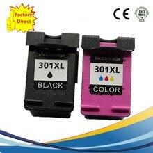 Black + Color 301 301XL Ink Cartridge for HP INK Deskjet 1000 1050 2050 3000 3050 printer NS14, 72 Hours Delivery .