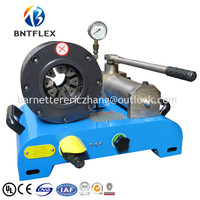 2016 BNT32M CE UL approved 6 32mm hydraulic oil hoses crimping machine in China