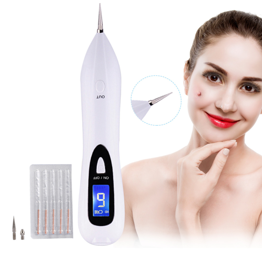Sispop Tattoo Machine Removal LCD Laser Sweep Freckle Mole Removal Pen Dark Spot Speckle Nevus Facial Skin Clean ToolSispop Tattoo Machine Removal LCD Laser Sweep Freckle Mole Removal Pen Dark Spot Speckle Nevus Facial Skin Clean Tool