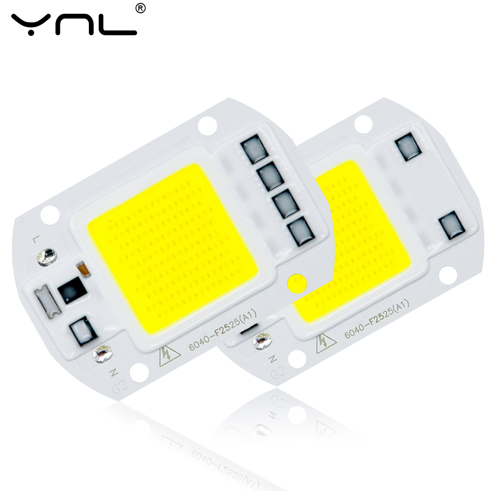 Search For Flights Diy 220v 110v Led Beads Light Cob 50w 30w 20w No Need Driver Smart Ic Led Bulb Lamp For Spotlight Luminaria Accessories Lights & Lighting Lighting Accessories