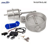 Exhaust Control Valve Set With Vacuum Actuator CUTOUT 3 76mm Pipe CLOSE STYLE With Wireless Remote