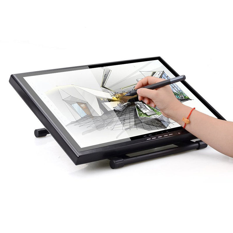 20 inch Windows System LCD Digital Drawing Tablet Monitor USB Graphics Painting Writing Panel with Touch Pen