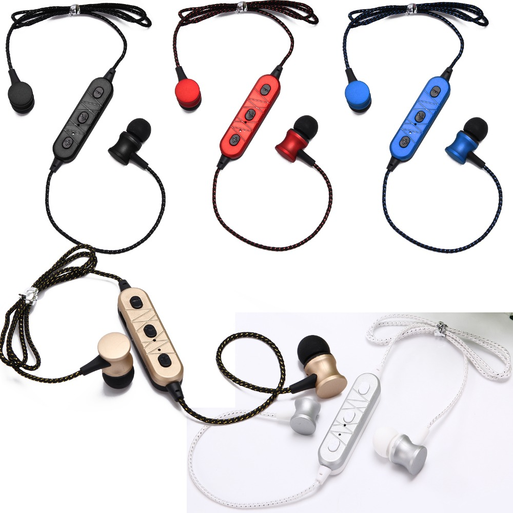 Wireless Stereo Bluetooth Heaphone Sport Headset Earphone Handsfree For Android IOS Mobile Samsung iPhone Motorola LG Tablet PC remax t9 mini wireless bluetooth 4 1 earphone handsfree headset for iphone 7 samsung mobile phone driving car answer calls