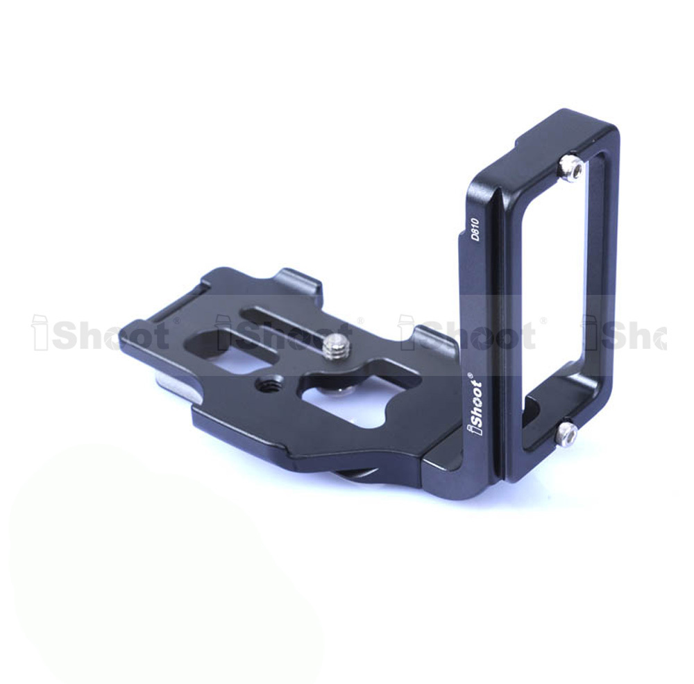 Removable Metal L-shaped Vertical Shoot Quick Release Plate/Camera Holder Bracket Grip for Nikon D810 Tripod Ball Head -HOT ITEM от Aliexpress INT