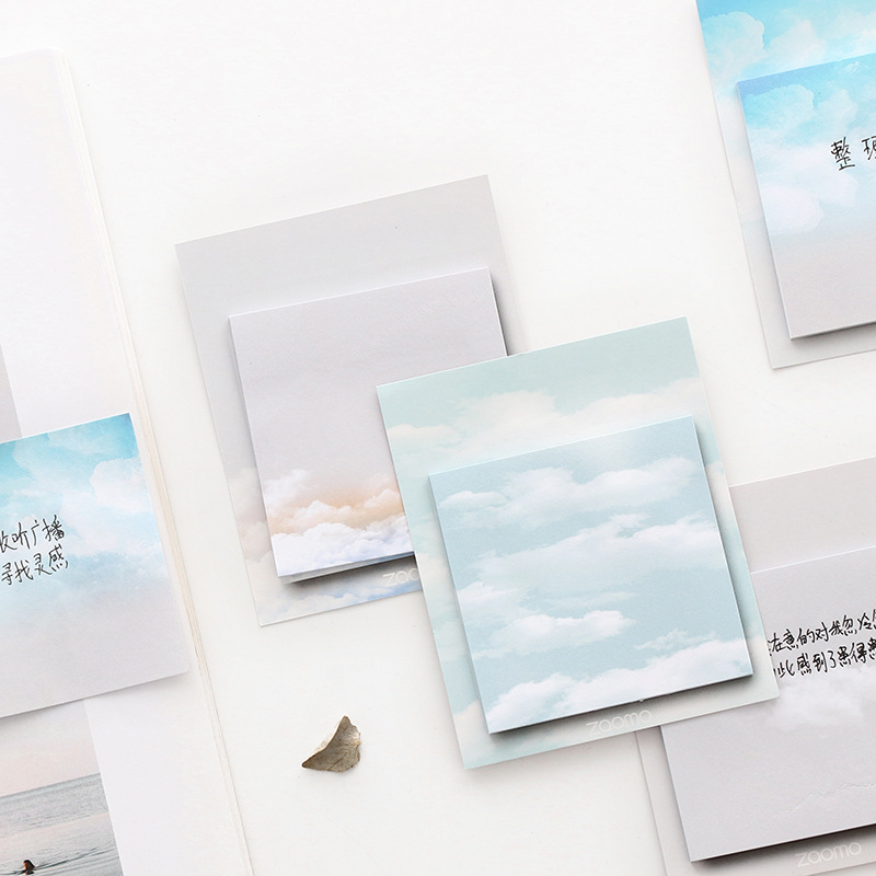 The Weather Self-Adhesive N Times Memo Pad Sticky Notes Bookmark School Office Supply цена и фото