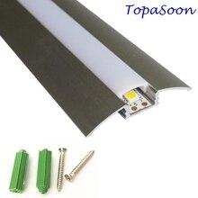 10 ADET 1 m uzunluk LED Profil için 12mm genişlik led şerit işık ücretsiz DHL kargo LED şerit alüminyum kanal konut Ürün no. LA LP21