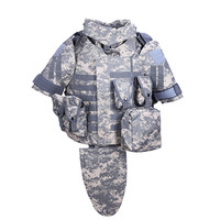 OTV Tactical Vest Camouflage Combat Body Armor With Pouch Pad ACU USMC Airsoft Military Molle Assault