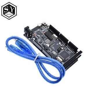 Great IT Mega+WiFi R3 ATmega2560+ESP8266 32M Memory USB-TTL CH340G Compatible For Arduino Mega NodeMCU ESP8266(China)