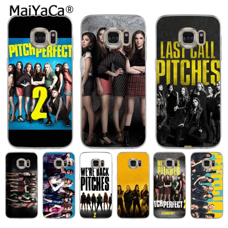MaiYaCa pitch perfect soft tpu phone case cover for samsung galaxy s7 s6 edge plus s5 s9 s8 plus case