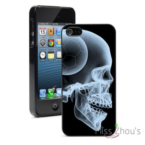 Soccer Head Skull Protector back skins mobile cellphone cases for iphone 4/4s 5/5s 5c SE 6/6s plus ipod touch 4/5/6