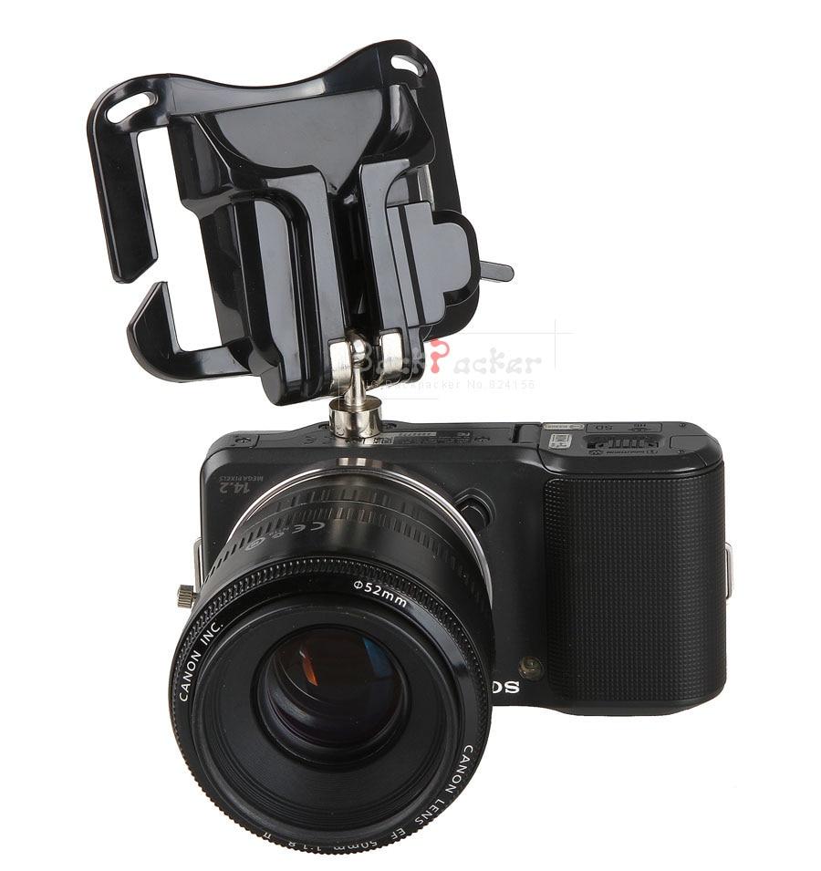 2016 NEW 1/4 Screw Waist Spider Holster Shoot Belt Buckle Button DSLR Camera Quick Strap 750D D810 D750 D600 5D Mark III