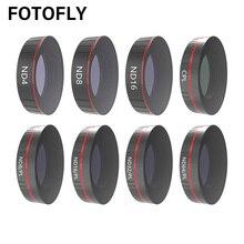 Pour DJI Osmo Action caméra lentille filtre UV/CPL polarisant/ND 4 8 16 32 64 1000 filtres Set pour Osmo Action lentilles accessoires