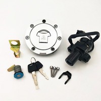 For Honda CBR250 Mc19/22 NSR250 P3/P4 CBR400 MC23/29 Ignition Switch Lock Key Gas Cap Cover Kit motorcycle lock sets