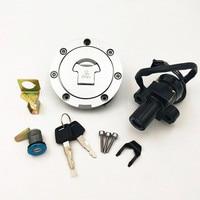 For Honda CBR250 Mc19/22 NSR250 P3/P4 CBR400 MC23/29 Ignition Switch Lock Key Gas Cap Cover Kit motorcycle lock sets