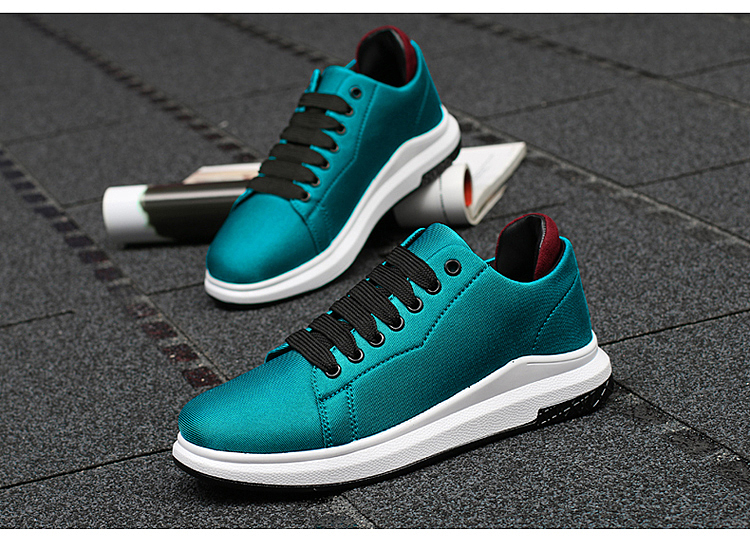Stretch Fabric Casual Shoes Woman 2017 Fashion Spring Lace Up Ladies Shoes Breathable Women\'s Vulcanize Shoes Superstars ZD68 (5)