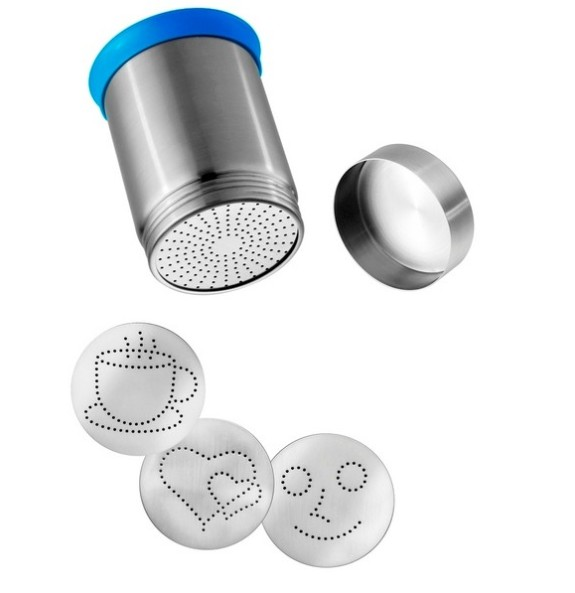 stainless steel motta fancy coffee bepowder cocoa powder with high quality and good price stainless steel coffee scoop with bag clip
