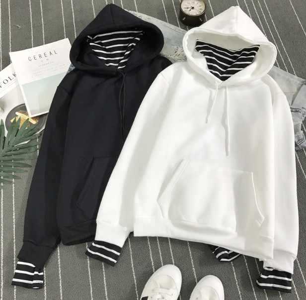 2018 New kpop Hoodie Bangtan Boys Hoodie Sweatshirt Tops Pullovers Kpop Fans Clothes Oversized Solid Cotton Harajuku Kawaii Tops