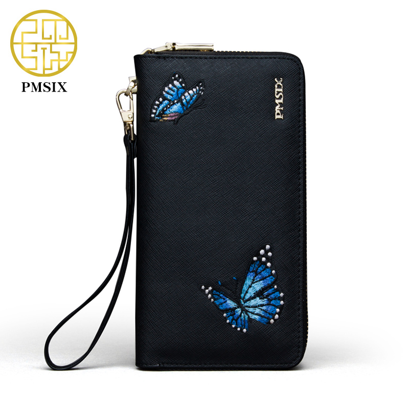 Pmsix Embroidery Butterfly Women s