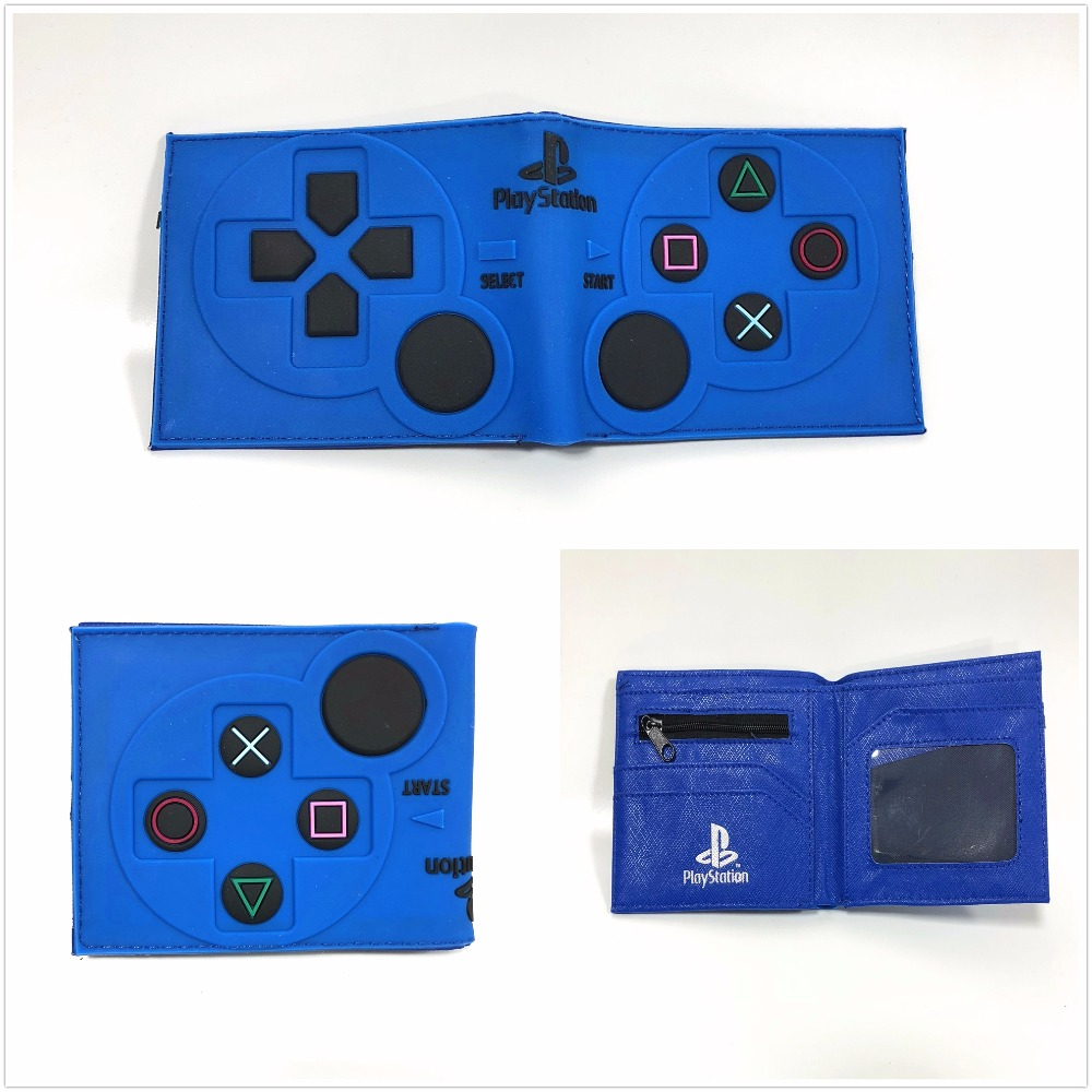 все цены на Game PlayStation 4 Wallet Short PVC Purse Credit Card Holder 3D Touch W960Q онлайн