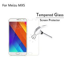 Для Meizu MX5 Закаленное Стекло Защитная Пленка Экрана Защитную Пленку 9 H 2.5D с розничной коробке Для Meizu MX5