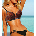 Sequins Beaded Underwire Bra,32B 34B 36B 38B 40B,Orange Women NEW Exotic Lingerie Underwear for Club party Wear