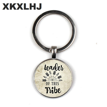 2019 Leader of this TRIBE pendant, mothers gift, charm keychain, charm, family leader, mom Mothers Day