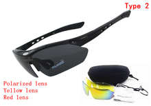 3 lens Polarized Riding bike bicycle cycling mountain Running sunglasses mtb glasses motorcycle sport eyewear Myopia 100% UV400