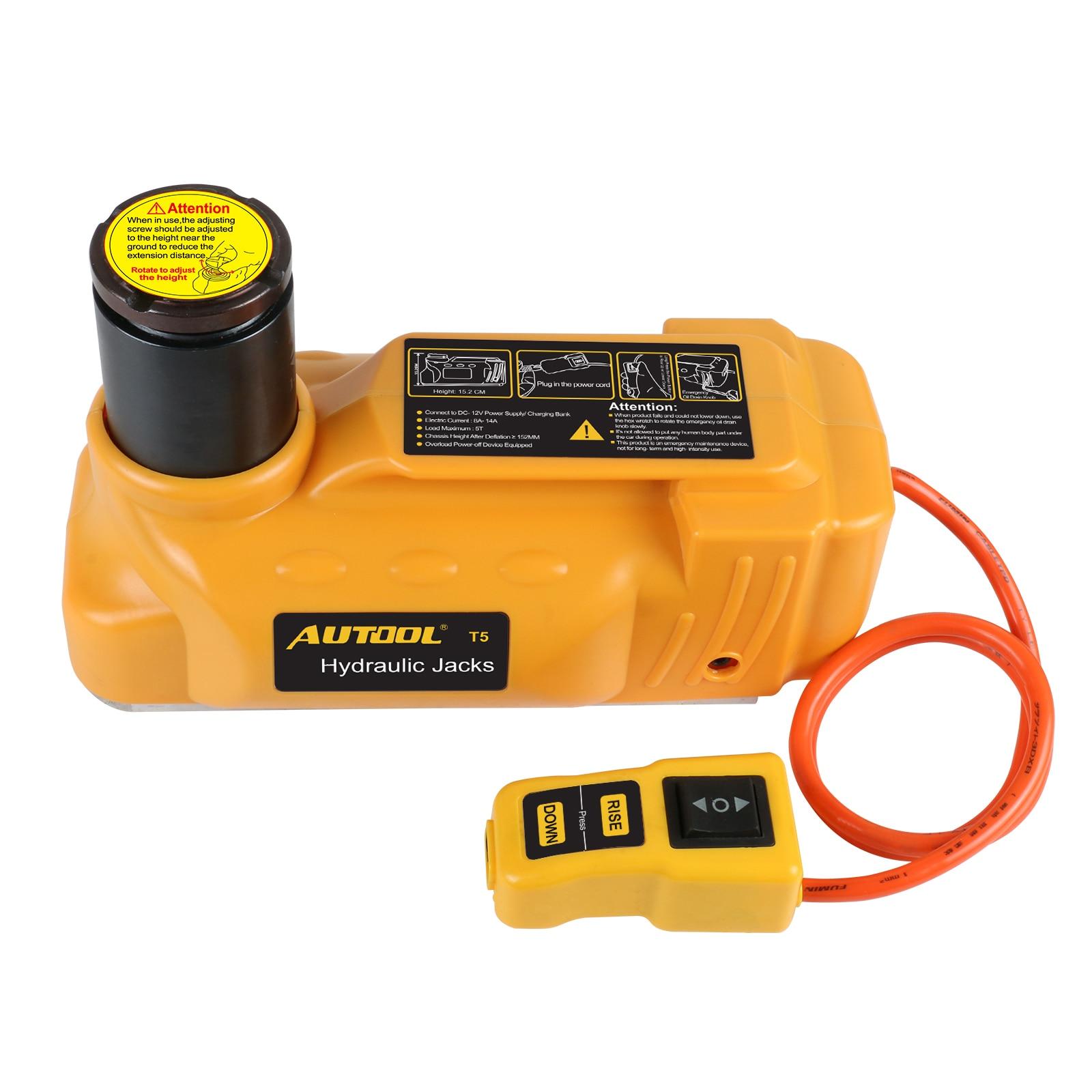 AUTOOL 3Ton 12V Hydraulic Car electric Jacks Tool For Automotive floor stripping
