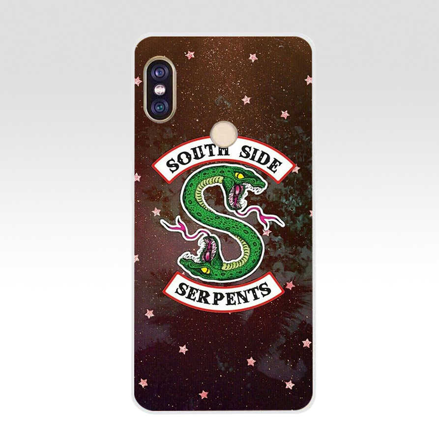 167 ZX Riverdale South Side Serpents TPU Soft Silicone Phone Case for Xiaomi Redmi Note 4 4X 5 7 6 pro plus a2 lite Cover
