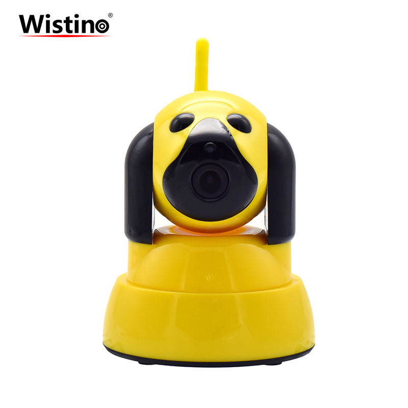 Wistino CCTV Wifi Camera 1MP Baby Monitor 720P Wireless IP Camera Smart Home Security Camera Night Vision Surveillance System wireless smoke fire detector for wireless for touch keypad panel wifi gsm home security burglar voice alarm system