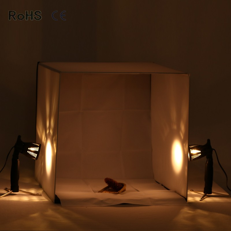 4 color 50cm*50cm/20inch*20inch Portable Mini Photo Studio The Best Small Folding Product Lighting Kit Light Box Tent