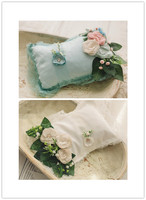 Pillow + headwear set for newborn photography props flowers headwear and pillows baby photo shooting posing props